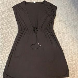Brown coverup or tunic
